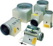 CV - Circular Electric Duct Heaters